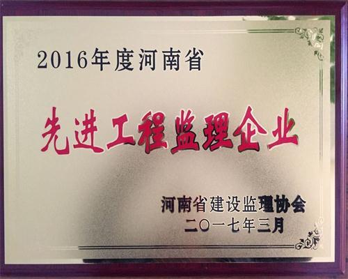 2016年度先進監理企業